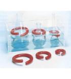 Кольца для фиксации колб в жидкостных термостатах